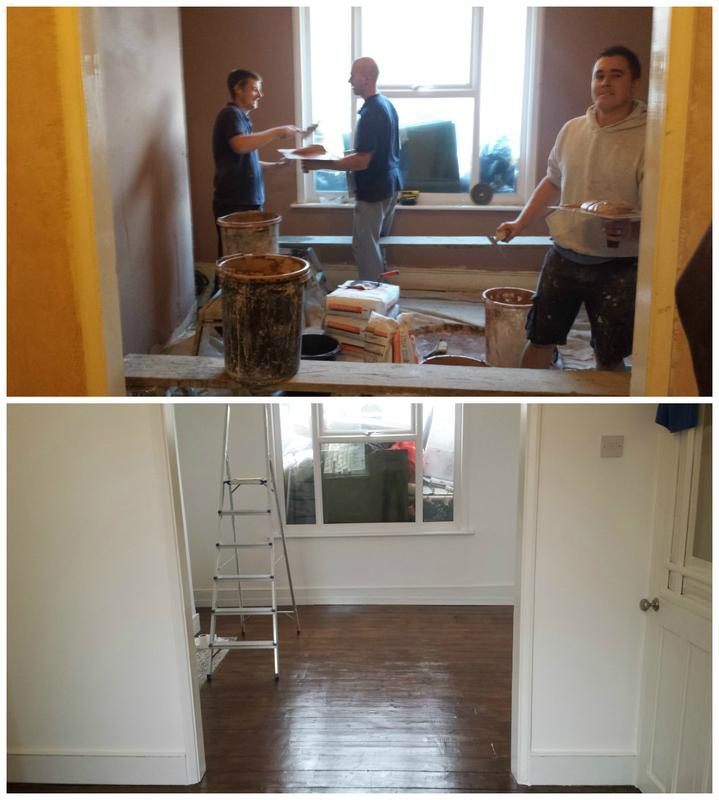 Image 46 - Full refurbishment including plastering floor refurbishment with varnishing. The room was also decorated.