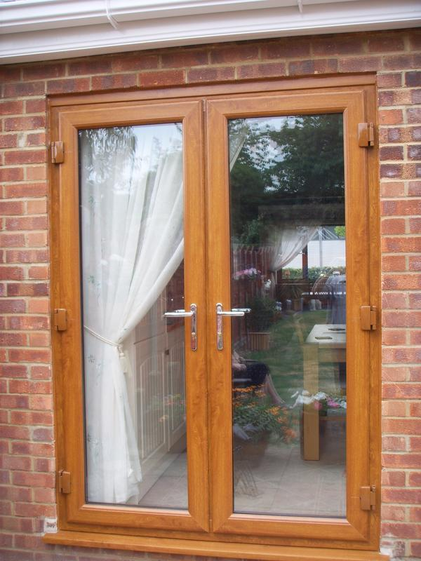 Image 32 - french door in light oak uvpc in Milton Keynes