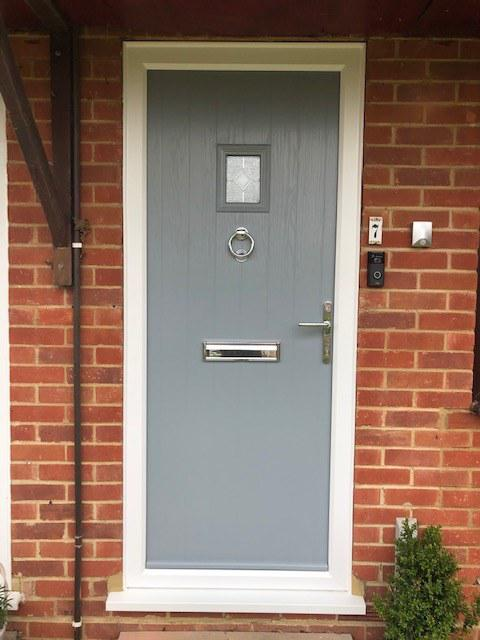 Image 51 - Cottage Composite door in French Grey