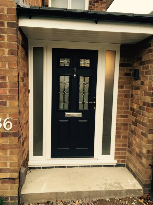 Image 81 - Syston - Front Door with Side Panels