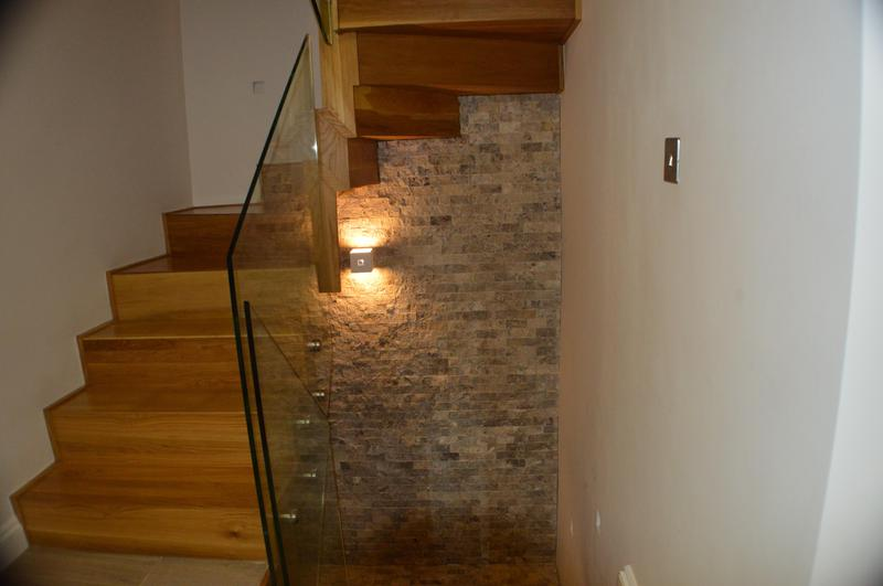 Image 17 - Bespoke oak staircase, painting and tiling