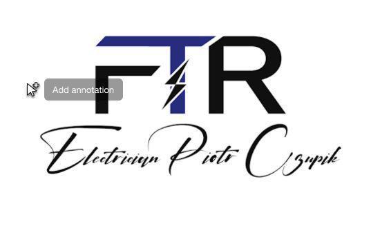FTR Electrician logo