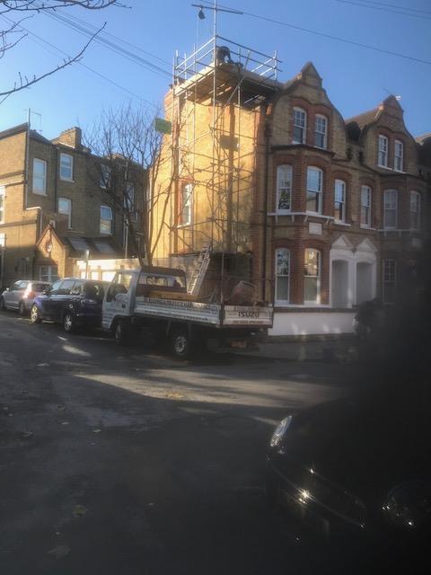 Image 116 - Chimney removal and rebuilding Putney sw London