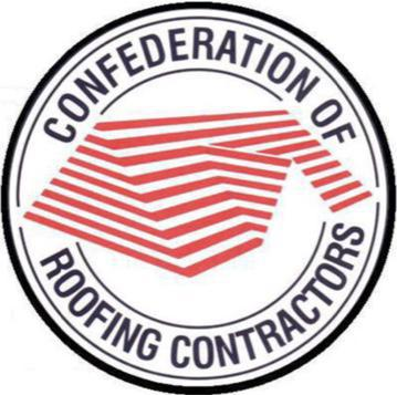 Image 5 - We are proud members of the confederation of roofing contractor's Membership number 7480