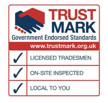 Image 40 - We are members of the government in endorsed Trustmark scheme this means our work is inspected on a regular basis by an independent expert insuring that works we carry out is of a high standard.