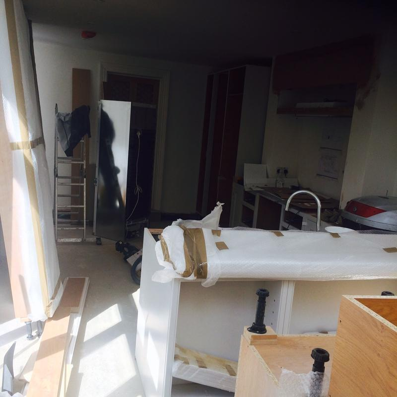 Image 33 - Bespoke English kitchen stage 1