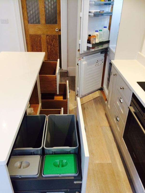 Image 44 - Bespoke English kitchen finished work.