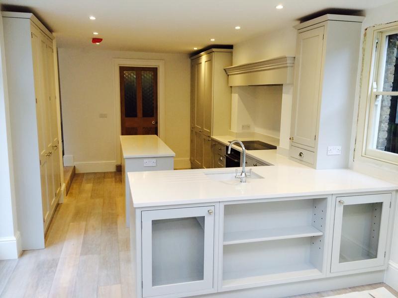 Image 41 - Bespoke English kitchen finished work.