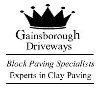 Gainsborough Driveways logo