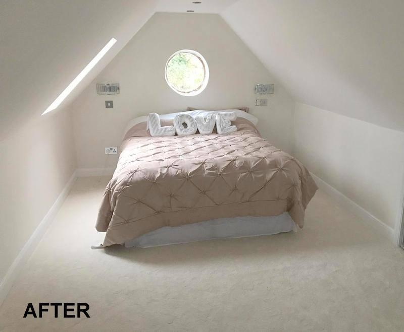 Image 80 - Two storey garage conversion - upstairs bedroom