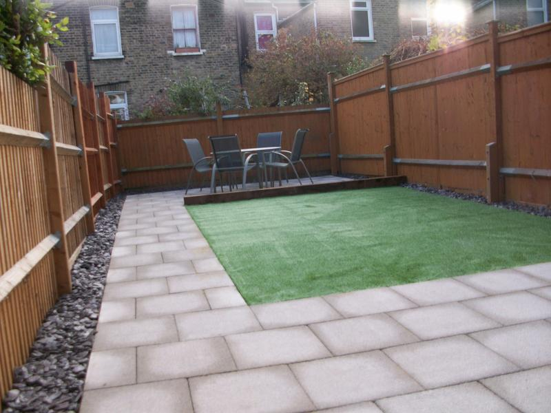 Image 12 - New Patio & Artificial Lawn