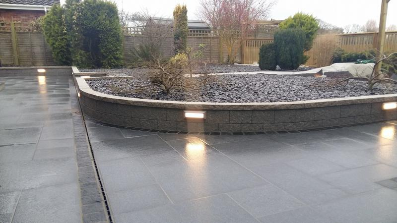 Image 17 - Landscaped garden lighting & water feature