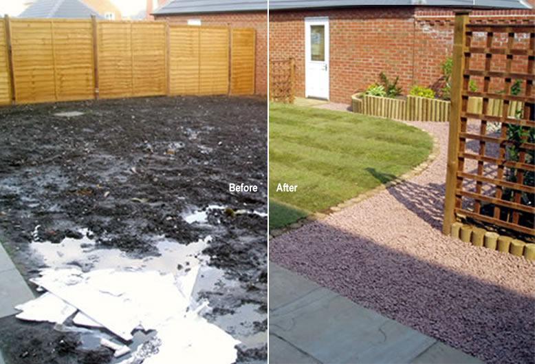 Image 224 - Garden redesigning