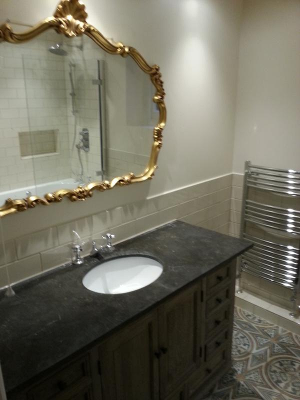 Image 4 - Familiy bathroom design and refurb including cement board protection against water ingress.