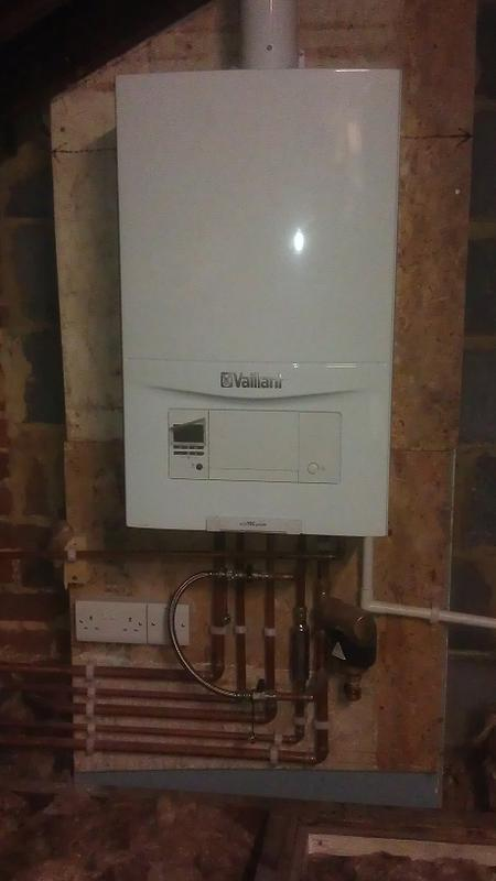 Image 15 - New boiler installation in the loft