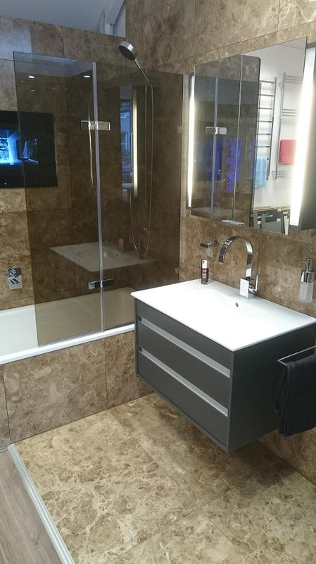 Image 21 - New bathroom suite and tiling installed