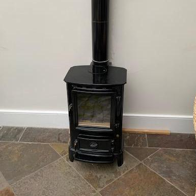 Image 5 - Gas Fired Log Burner