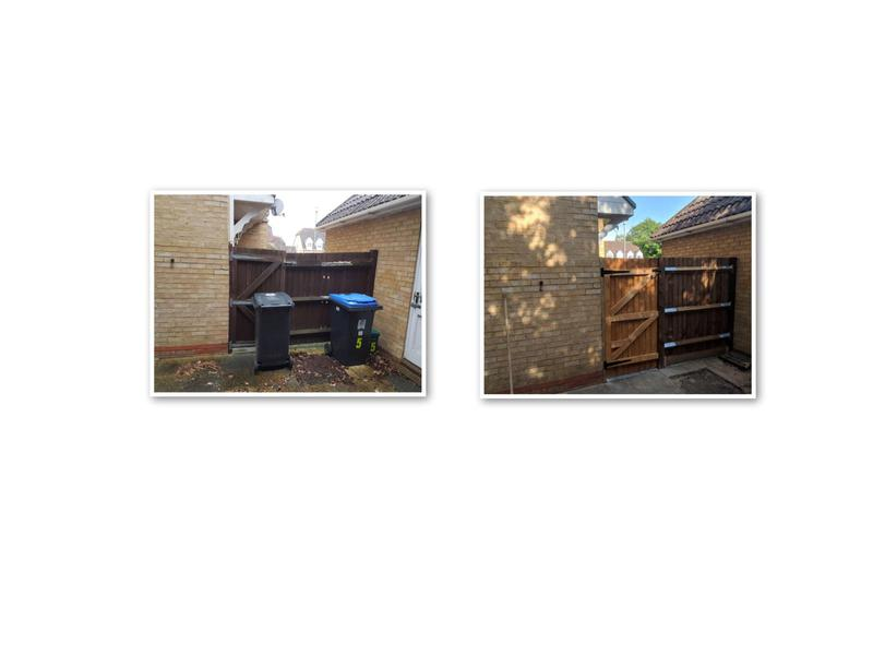 Image 4 - Replace gate & fence panel