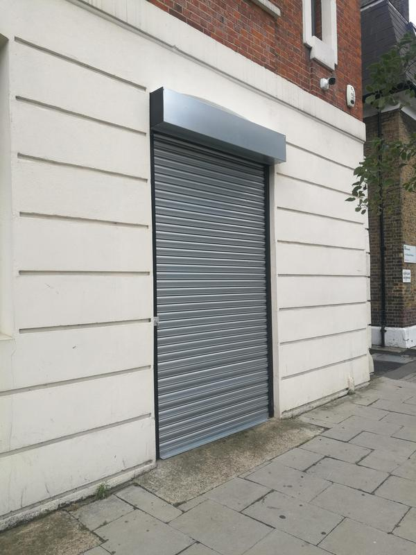 Image 11 - SHAW SECURITY InstallGalvanised SteelSolid Lath Electric Roller Shutter fitted at Tabard StreetLondon SE14LGMARIS INTERIORS