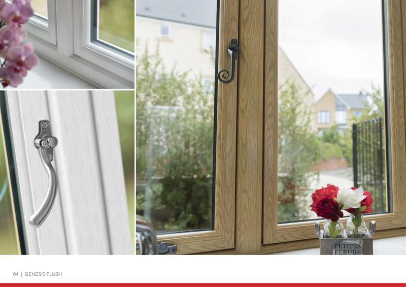 Image 21 - Genesis - Flush glazed windows