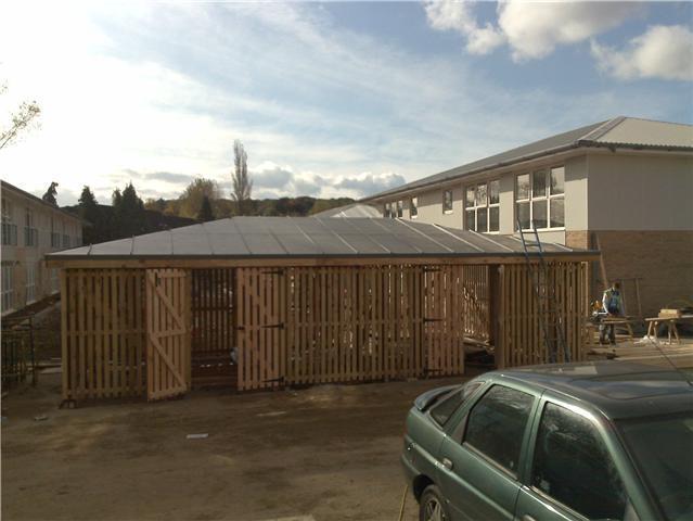 Image 6 - Bin Stores, Soprema PVC Single Ply Membrane - Kings Langley, Hertfordshire