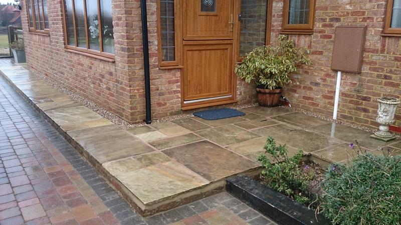 Image 13 - Patio and Front Door Step