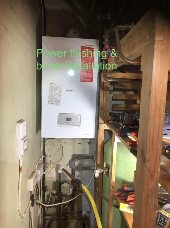 Image 25 - Glow worm boiler installation, Adey filter and power flushing