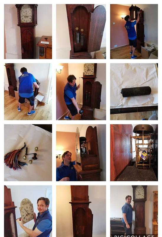 Image 2 - The dismantling and reassembling of a Long case (Grandfather) Clock.