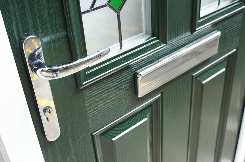 Image 14 - green door
