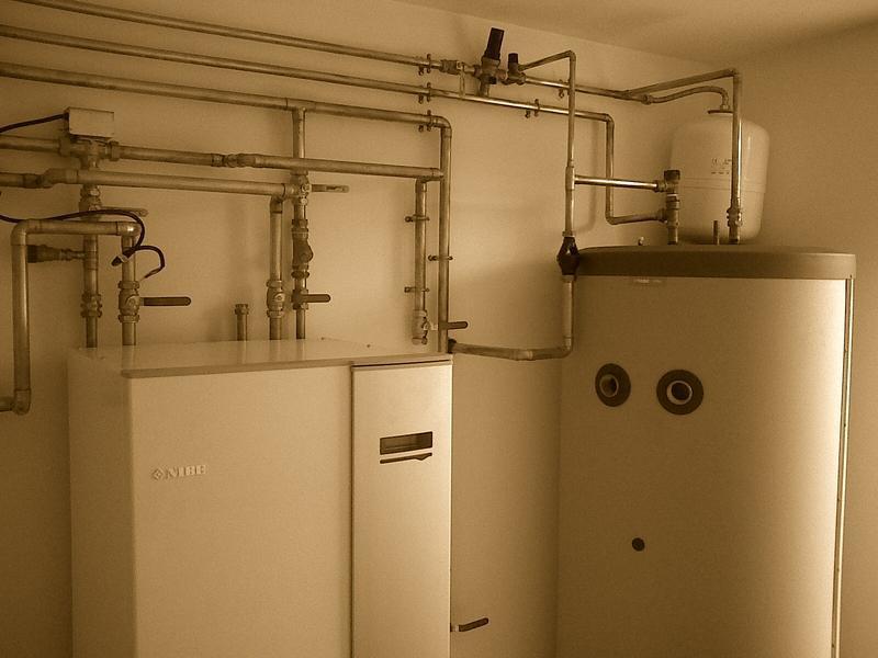 Image 36 - Ground source heat pump installation