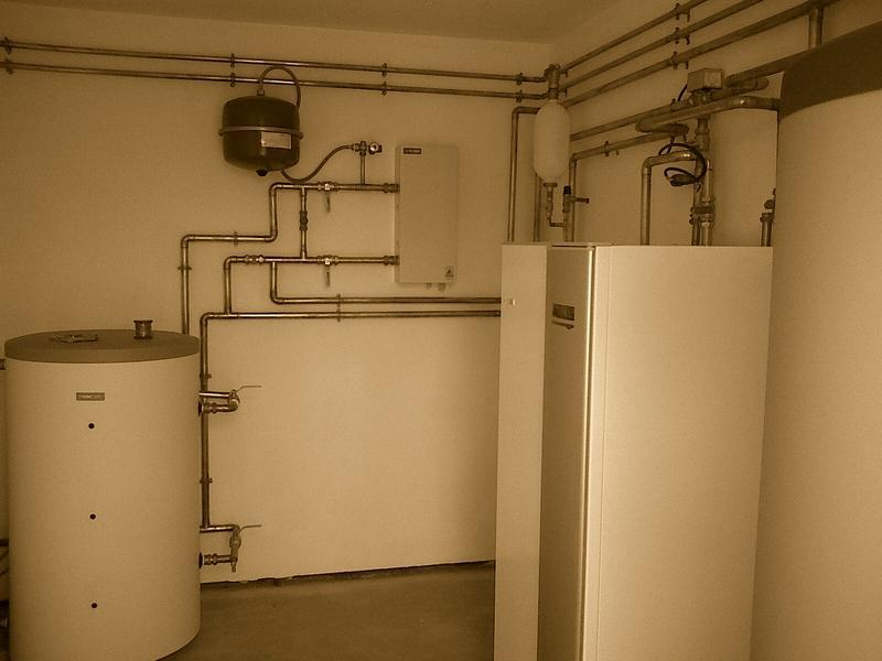 Image 37 - Ground source heat pump installation