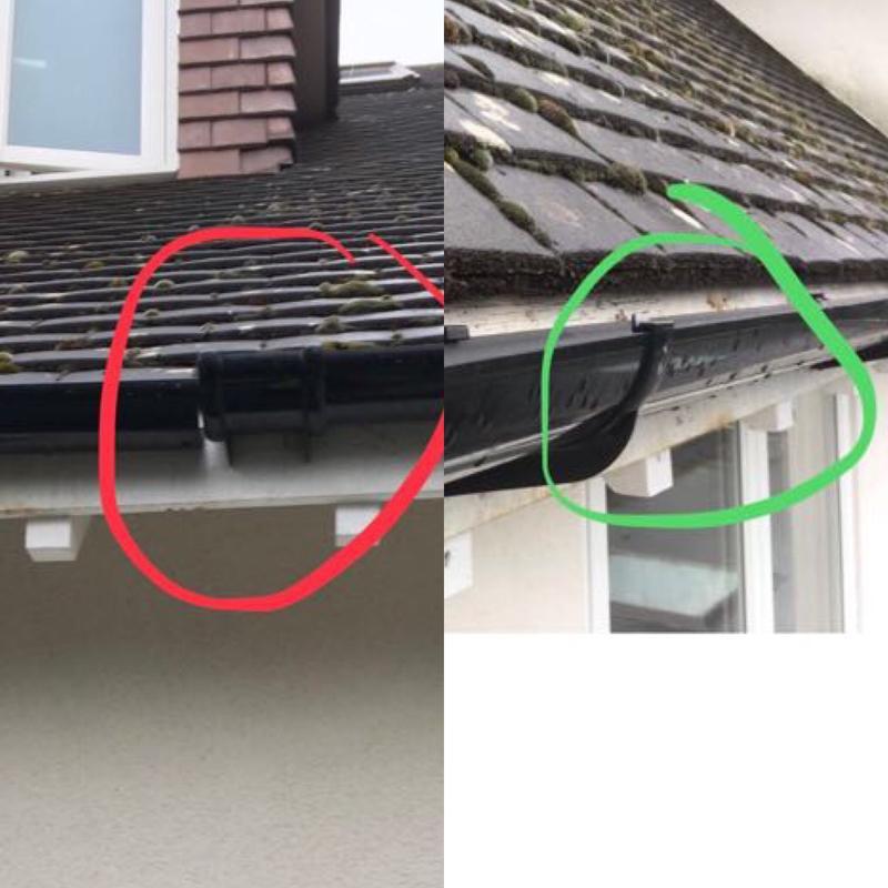 Image 62 - Gutter repair.