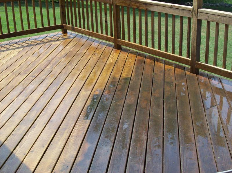 Image 8 - Decking pressure washing & treatment