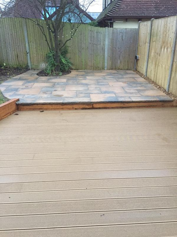 Image 19 - Composite oak decking area with step free access into the new orangery