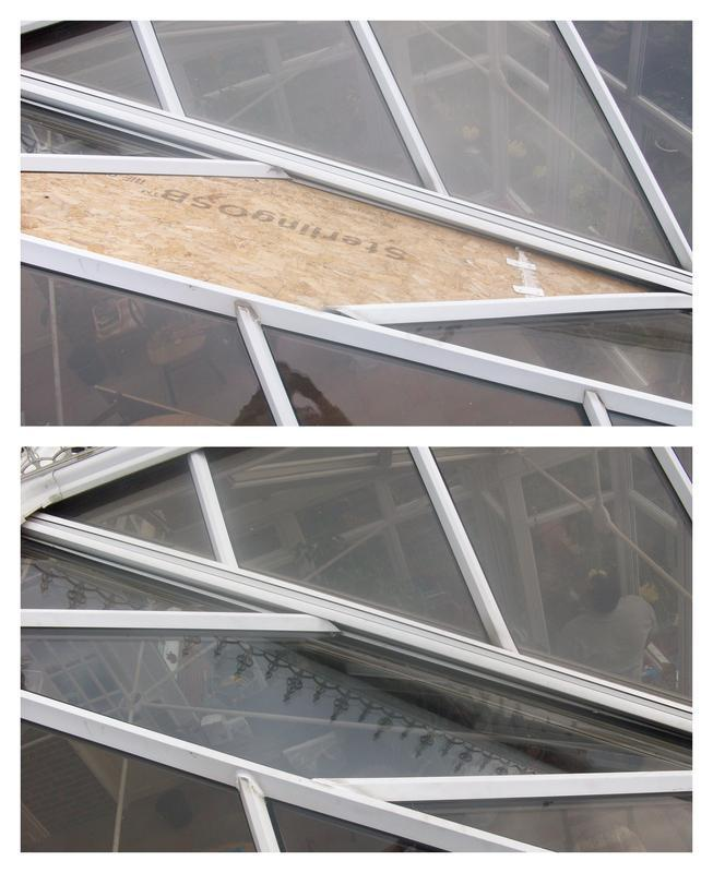 Image 5 - Replacement glass unit in conservatory roof