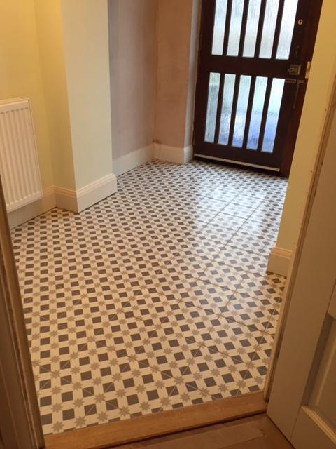 Image 12 - hallway tiling by DKM Developments Ltd builders Great Dunmow Essex