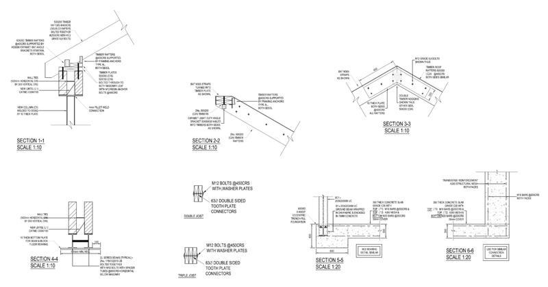 Image 17 - Structural Connection Details. Kilburn. North London.