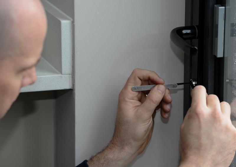 Image 1 - Using non-destructive entry techniques