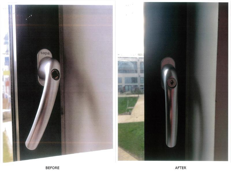 Image 14 - Tilt & turn window handle required replacement as there was no locking barrel
