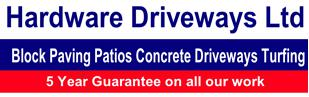 Hardware Driveways Ltd logo