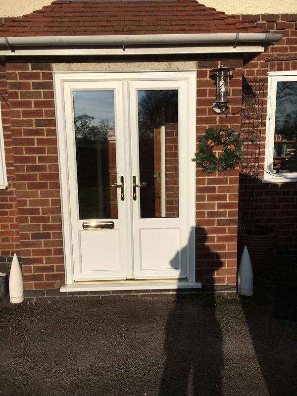 Image 2 - White UPVC French Doors, Market Bosworth, Leicestershire