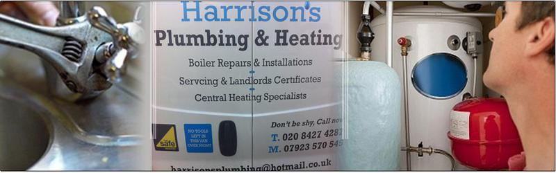 Harrison's Plumbing & Heating logo