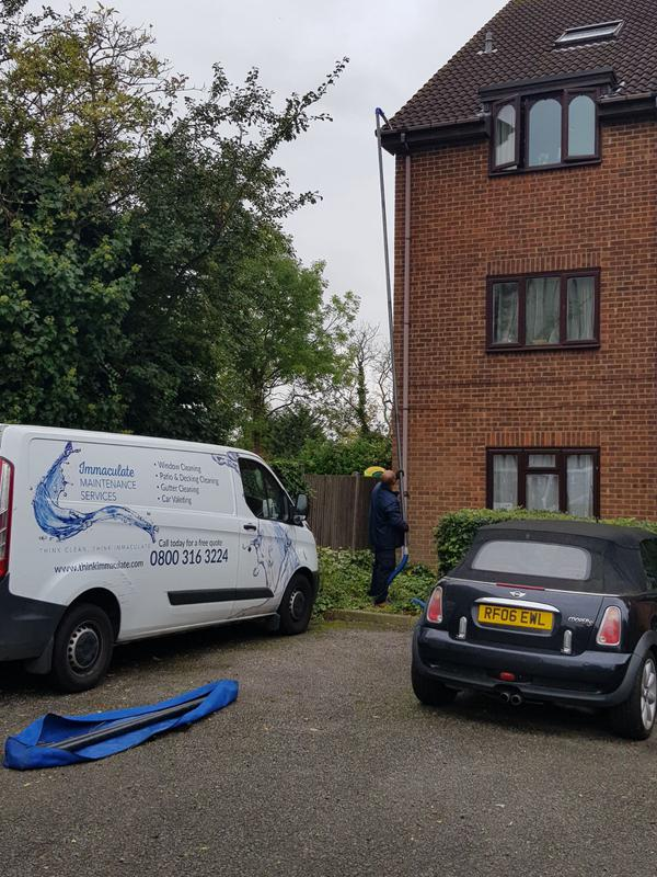 Image 14 - Gutter cleaning flats in Harrow