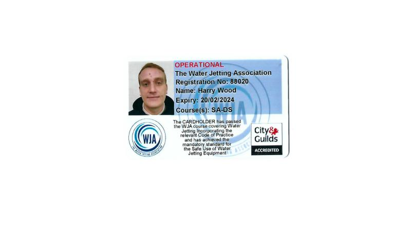 Image 3 - The Water Jetting Association - City & Guilds