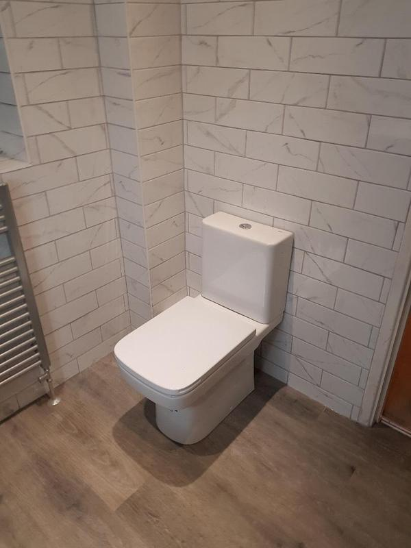 Image 4 - tiling and new new toliet