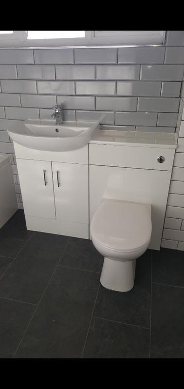 Image 4 - Hemel Hempstead new bathroom install. Neptune can install and supply new bathroom products, and deal with the plumbing and the plaster and the tiling.