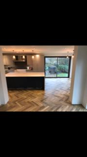 Image 4 - This is a herringbone Amtico flooring we laid for a customer in Wokingham. Herringbone is becoming more and more popular in the last few years! I can tell why :)