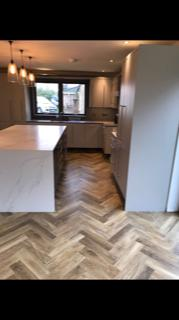 Image 3 - This is a herringbone Amtico flooring we laid for a customer in Wokingham. Herringbone is becoming more and more popular in the last few years! I can tell why :)