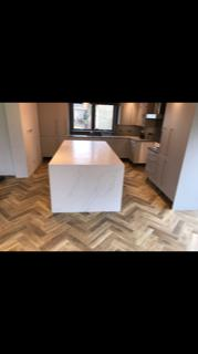 Image 2 - This is a herringbone Amtico flooring we laid for a customer in Wokingham. Herringbone is becoming more and more popular in the last few years! I can tell why :)