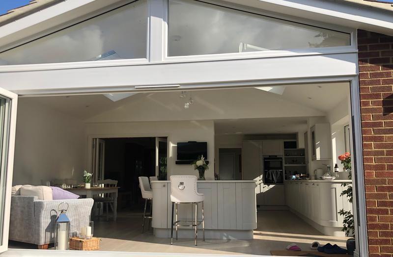 Image 7 - Rear extension with Bifold doors